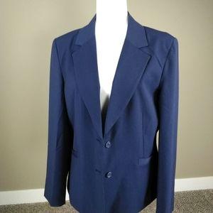 Women's blazer-Chadwicks-navy 16